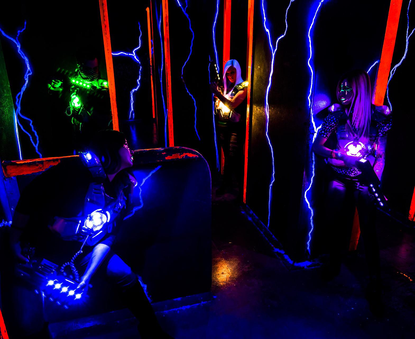 Laser Game Equipment Xraid Home